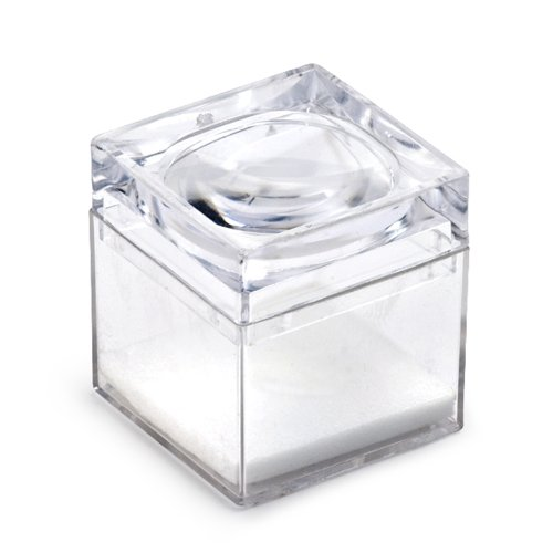 Gift Box with a Magnifying Glass