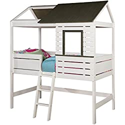 HOMES: Inside + Out IDF-7137 Romay Novelty Bed Childrens Frames, Twin