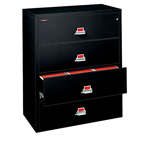 - Fireproof Four Drawer Lateral File - 44
