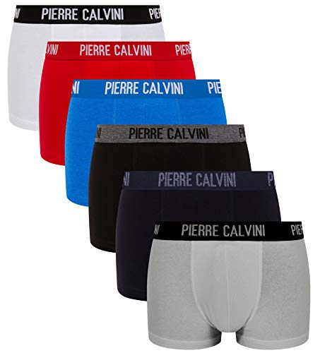 Men's Pierre Signiture Uomo pacco Boxer Calvini 6 Da classic Multicolore r5BWnrSP