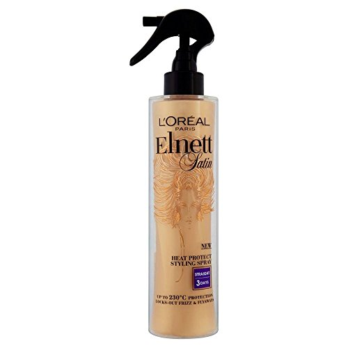L'Oréal Paris Elnett Heat Protect Spray - Straight (170ml)