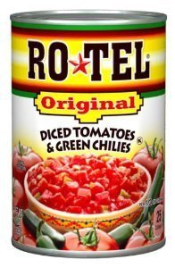(Ro-Tel, Tomato & Green Chilies, Diced, 10oz Can (Pack of 6) by Ro-Tel)