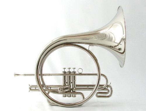 Schiller Field Series Marching French Horn - Nickel Silver by Schiller