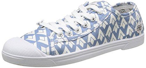 Zapatillas Diamond Basic Cerises Azul 02 Des Le Blue Temps LTC Mujer xPY44g