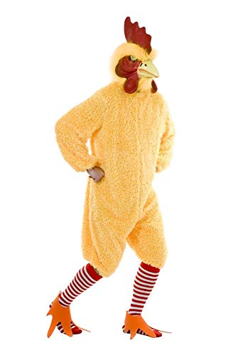 Charades Unisex-Adult's Rocking Rooster, Yellow, Small -