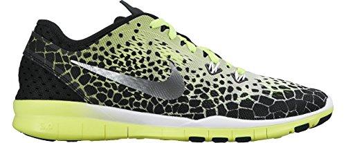 Nike Wmns Nke Free 5.0 Tr Fit 5 Prt -  para hombre Black/Metallic/Silver/White