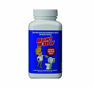 Bowl B-Dry BBD-55 Plumbing Absorbent, 5.5 oz Bottle