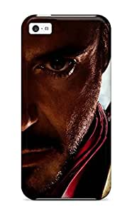 Hot Iron Man Movie People Movie First Grade Tpu Phone Case For Iphone 5c Case Cover