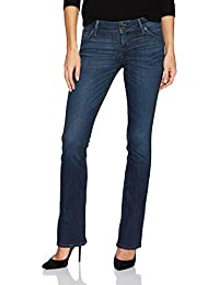 Women's Beth Petite Baby Boot Flap Pocket Jean