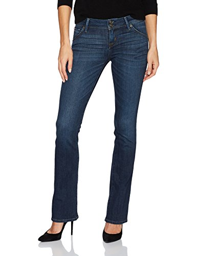 Hudson Jeans Women's Beth Petite Baby Boot Flap Pocket Jean, Spellbound, 28 by Hudson Jeans
