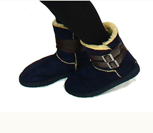 SendIt4Me ,  Damen Stiefel Navy-Blau
