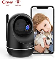 Victure Dualband 2.4Ghz and 5Ghz 1080P WiFi Camera Baby Monitor,FHD Wireless Security Camera with Motion Detection via...