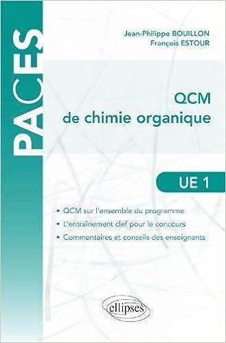 En ligne Qcm de Chimie Organique UE1 pdf