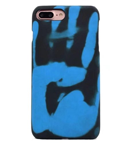 Losin Thermal Case Compatible with Apple iPhone 6 / iPhone 6S 4.7 Inch Fashion Color Changing Thermal Sensor Fluorescent Thermal Heat Induction Noctilucent Matte Soft TPU Back Case