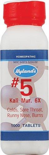 HYLANDS HOMEOPATHIC KALI MUR 6X, 1000 TAB ()