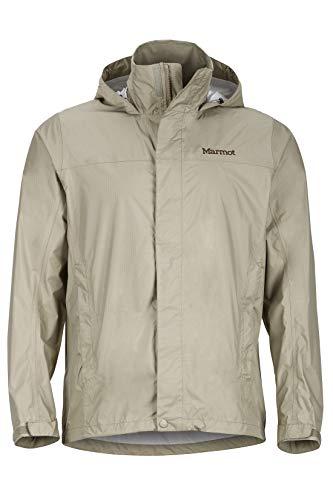 (Marmot Men's PreCip Jacket: Shell (LightKhaki, Medium) )