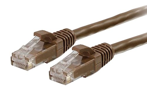Cables To Go 3m Cat6 550mhz Snagless Patch Cable - Brown (Brown Cat6 Patch Cable)