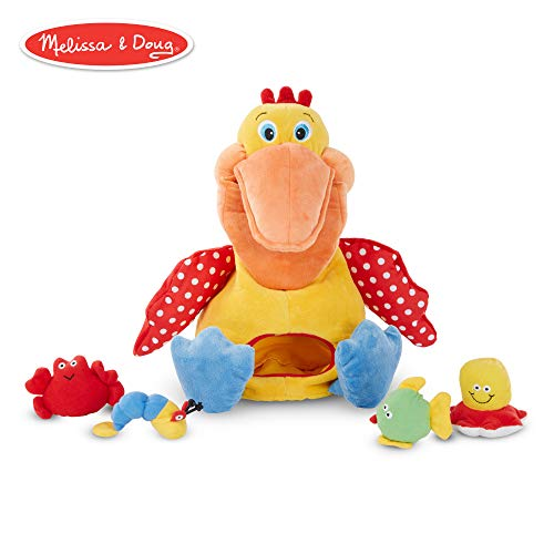 Melissa & Doug K's Kids Hungry Pelican Soft Baby Educational Toy -