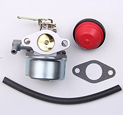 New Snowblower Carburetor For Tecumseh 640084B HSK40 HSK50 HS50 LH195SP With Primer Bulb