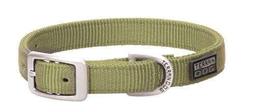 Nylon Double Ply Dog Collar (Terrain D.O.G. Nylon Double-Ply Dog Collar)