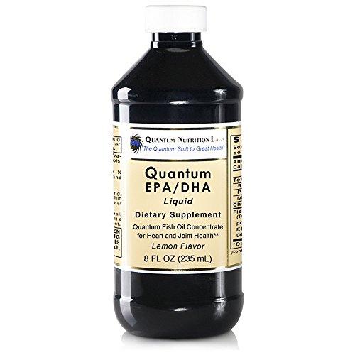 Quantum EPA/DHA, 24 fl oz (3 Bottles) - Quantum Fish Oil Concentrate for Heart and Joint Health, Lemon Flavor by Quantum Nutrition Labs (Image #2)