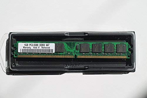 1GB DDR2 PC2-5300 DESKTOP Memory Module (240-pin DIMM, 667MHz)