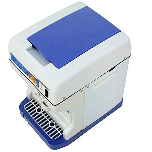 ZENY Ice Crusher Maker Commercial Ice Shaver Snow Cone Maker Equipment Machine (White) by ZENY (Image #3)