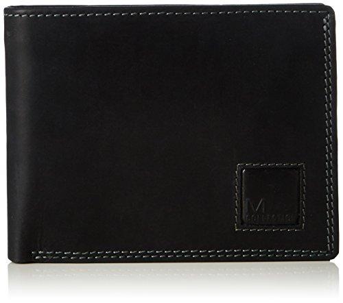 M-Collection Magic Portemonnaie (QF), Portafoglio unisex adulto, Nero (Schwarz (black 900)), 12x10x1 cm (B x H x T)