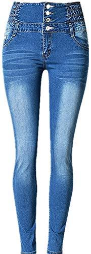 Exteriores Lápiz Leggings Para Pantalones Alta De Color Sólido Estilo Casuales Con 22 Jeans Ajustados Sencillos Mujer Cintura Elásticos Ap50q7cqB