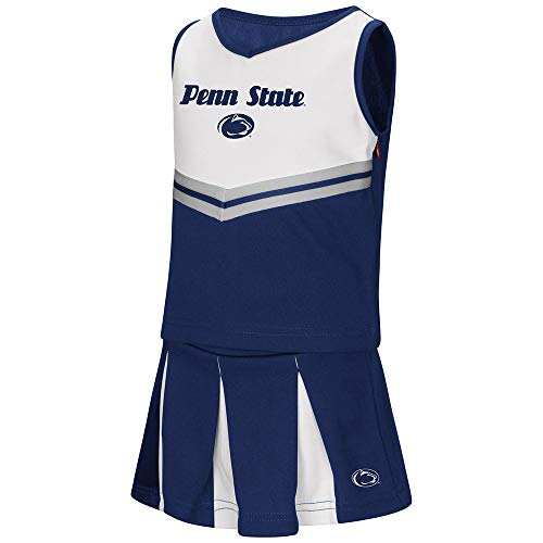 Cheerleader Piece Dress 2 (Colosseum Penn State Nittany Lions NCAA Toddler