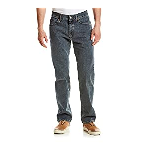 LEE Men's Regular Fit Straight Leg Jeans,