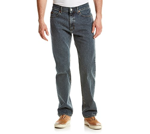 ผู้ชาย Regular Fit Slate Stretch Jeans Lee