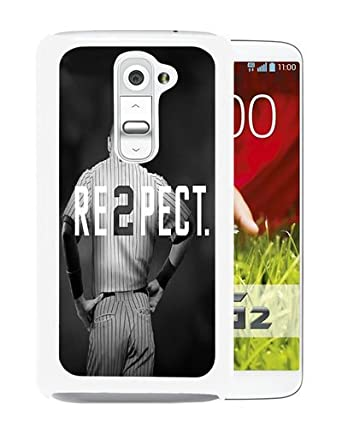 huge selection of 62ee8 01e3b Hot Sale LG G2 Case ,Derek Jeter RE2PECT New York Yankees White LG ...