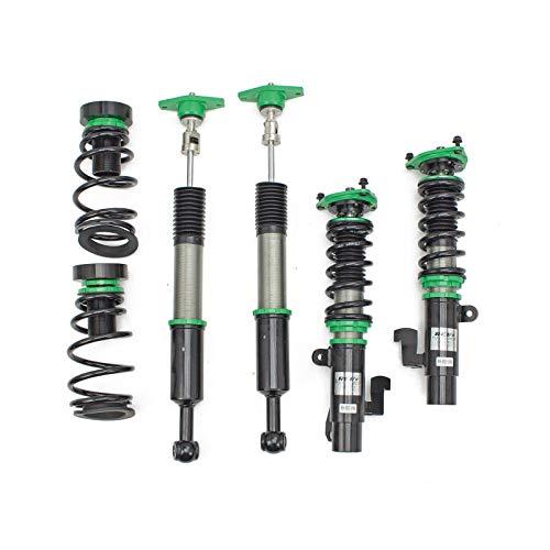 Rev9 R9-HS2-046 Hyper-Street II Coilover Suspension Lowering Kit, Mono-Tube Shock w/ 32 Click Rebound Setting, Full Length Adjustable