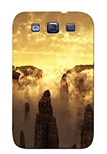 Crazinesswith Fashion Protective Canyon In The Morning Case Cover For Galaxy S3