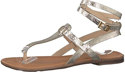 s.Oliver Women's Fashion Sandals Silver Silver woTLB6N9