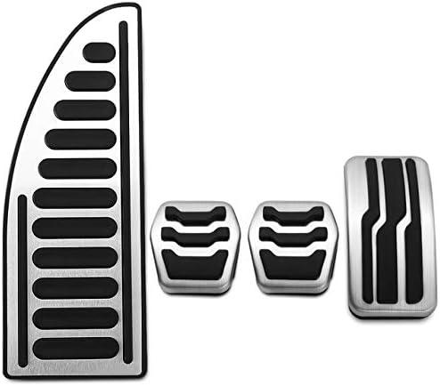 Kjltld Edelstahl Auto Pedalabdeckungen Pedale Set Fit Für Ford Focus 2 3 4 Mk2 Mk3 Mk4 Kuga Escape Rs St 2005 2017 Zubehör Mt Und Rest Küche Haushalt