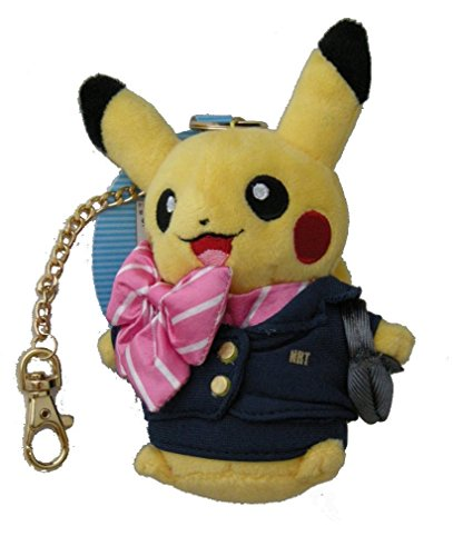 Stuffed Fright Attendant Pikachu Mascot Pokemon Center Tokyo Narita Airport - Airport Mascot