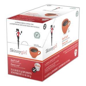 Skinnygirl K-Cup Brewer Compatible Half Caff Coffee - 96 Count