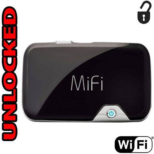 Router Hotspot 3G Unlocked GSM Novatel 2372 Mifi (3G USA at&T T-Mobile Metro Pcs Cricket Latin & Caribbean) up to 5 WiFi Users Desbloqueado