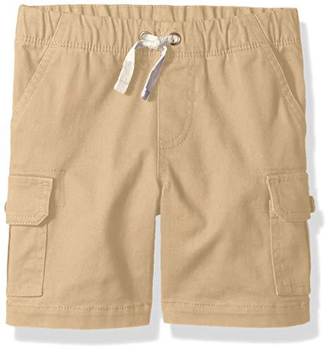 (Amazon Essentials Toddler Boys' Cargo Short, Incense Khaki, 2T)