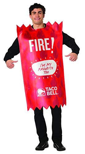 Taco Bell Hot Sauce Packet Costumes - Taco Bell Sauce Packet Red Fire
