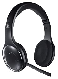 Logitech Wireless Headset H800 for PC, Tablets and Smartphones in Bulk Packaging Plus Free 3 ft USB Extender