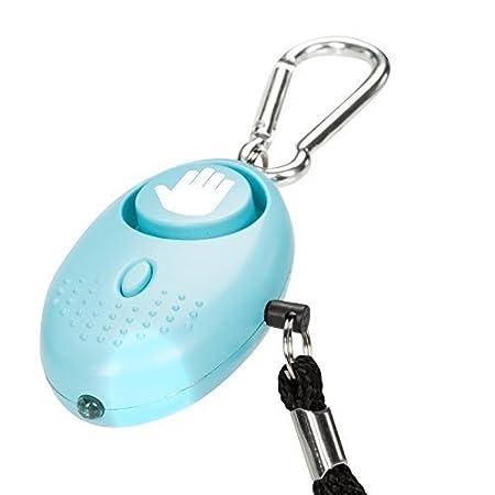 tiiwee Alarma Personal 130dB Alarma de P/ánico con la Protecci/ón de antorcha /Ð Seguridad contra violaciones Juego de 2 Defensa Personal