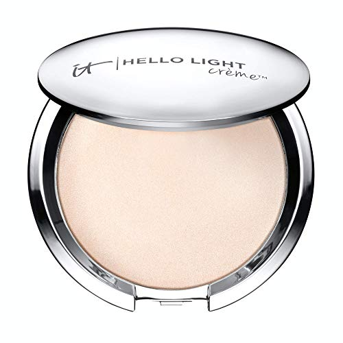 IT Cosmetics Hello Light Creme Luminizer – Anti-Aging Highlighter – Brightens, Hydrates & Awakens Skin – With Silk…