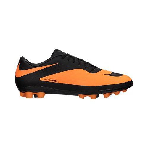 Nike - Bota hypervenom phatal artificial grass, talla 41, color naranja