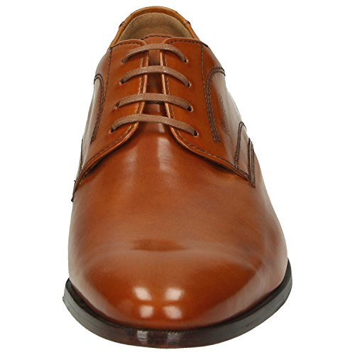 Sioux Men's 30344 Lace-Up Flats Brown BROWN Brown kDD7aIrN