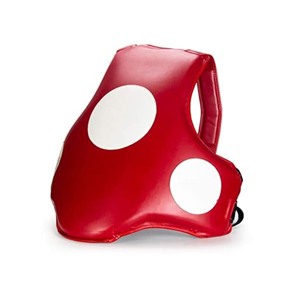 Vobajf-Boxing-Chest-Protector-Boxing-Chest-Protectors-Men-and-Women-Chest-Target-Sanda-Protective-Gear-Chest-Protectors-Taekwondo-Fight-Training-Body-Shields-Color-Red-Size-One-size