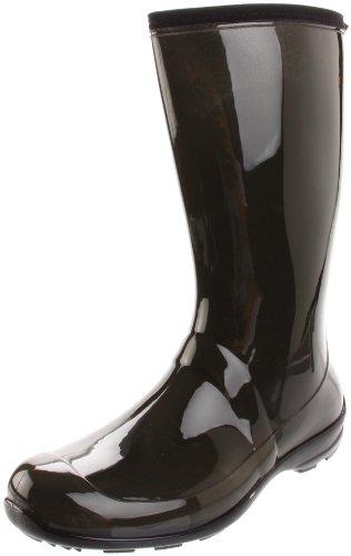 Kamik Women's Heidi Rain Boot,Olive,7 M US (Heidi Vinyl)