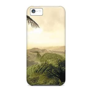 Premium [BjFn1934]look Thru The Jungle Case For Iphone 5c- Eco-friendly Packaging
